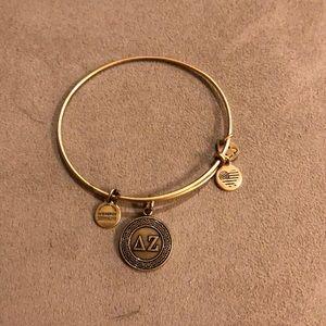 Alex and ani Greek bracelet